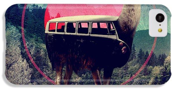 Llama IPhone 5c Case by Ali Gulec