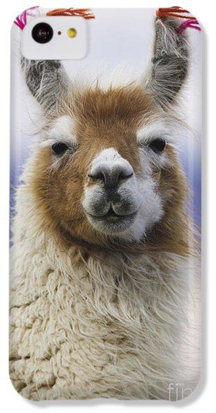Llama iPhone 5c Case - Llama In Bolivia by Art Wolfe MINT