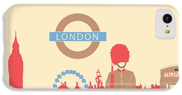 London England IPhone 5c Case by Famenxt DB