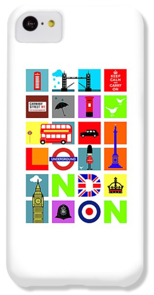 London IPhone 5c Case