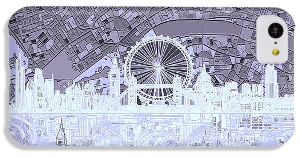 London Skyline Abstract 10 IPhone 5c Case