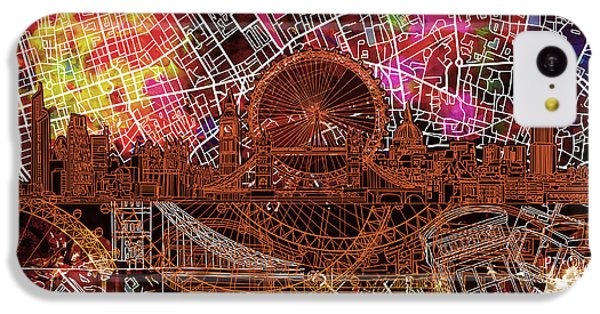 London Skyline Abstract 5 IPhone 5c Case