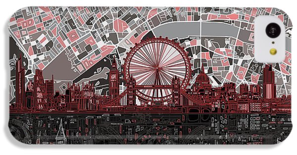 London Skyline Abstract 6 IPhone 5c Case