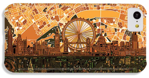 London Skyline Abstract 7 IPhone 5c Case
