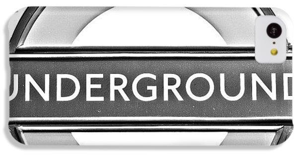 Beautiful iPhone 5c Case - #london #tube #underground by Georgia Fowler