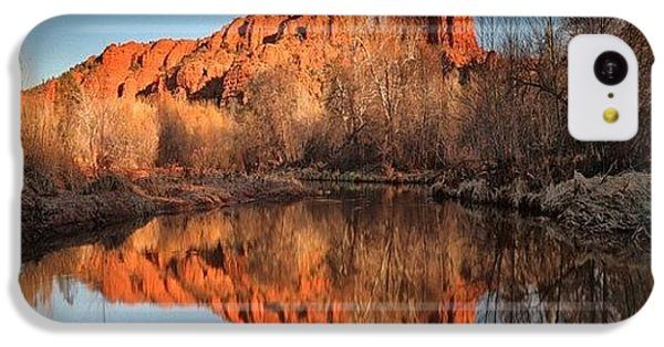 iPhone 5c Case - Long Exposure Photo Of Sedona by Larry Marshall