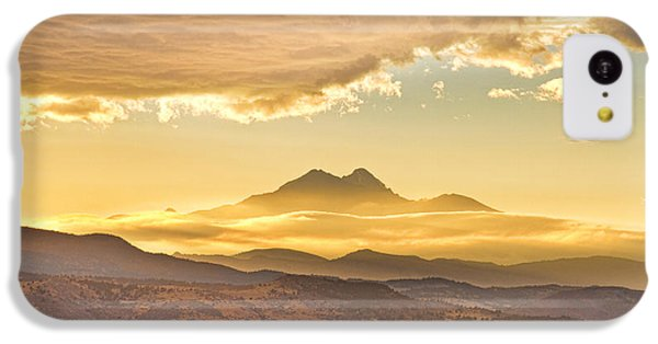 Longs Peak Autumn Sunset IPhone 5c Case