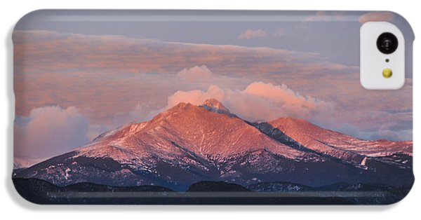 Longs Peak Sunrise IPhone 5c Case by Aaron Spong