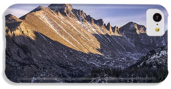 Longs Peak Sunset IPhone 5c Case by Aaron Spong