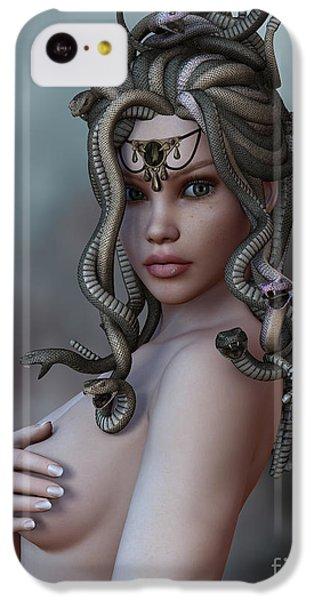 Gorgon iPhone 5c Case - Look Deep Within by Alexander Butler