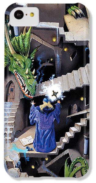 Lord Of The Dragons IPhone 5c Case by Irvine Peacock