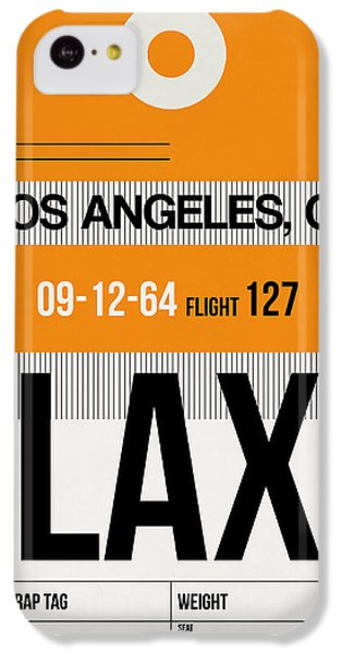 Los Angeles iPhone 5c Case - Los Angeles Luggage Poster 2 by Naxart Studio
