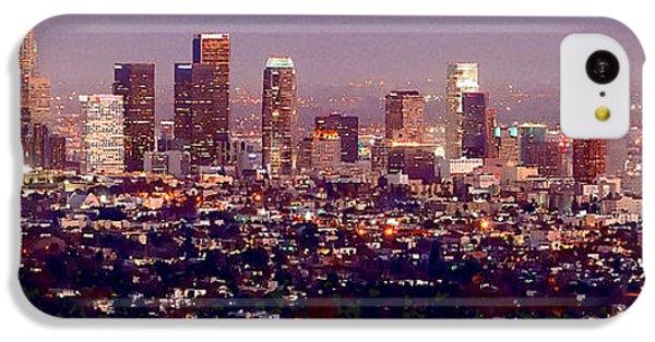 Los Angeles Skyline At Dusk IPhone 5c Case