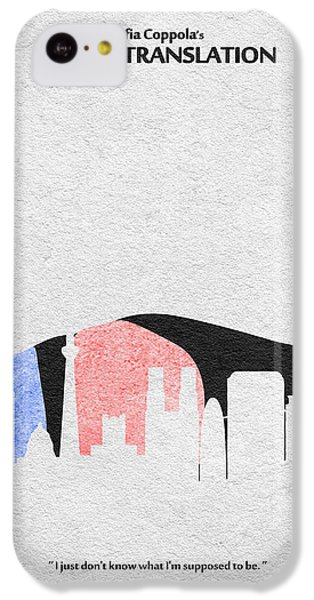 Scarlett Johansson iPhone 5c Case - Lost In Translation by Inspirowl Design