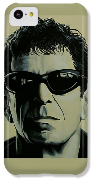 Lou Reed Painting IPhone 5c Case by Paul Meijering