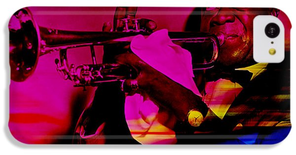 Louis Armstrong IPhone 5c Case by Marvin Blaine