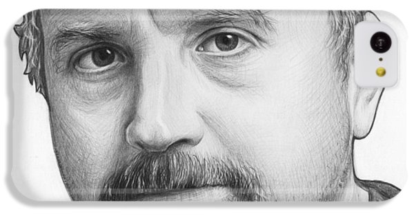 Louis Ck Portrait IPhone 5c Case by Olga Shvartsur