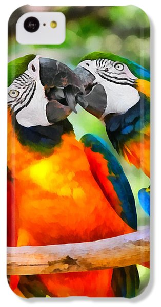 Love Bites - Parrots In Silver Springs IPhone 5c Case