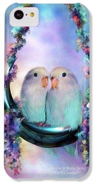 Love On A Moon Swing IPhone 5c Case by Carol Cavalaris
