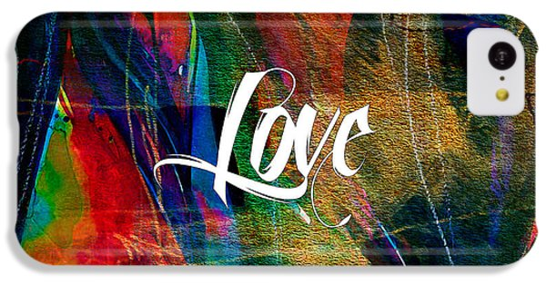 Love Wall Art IPhone 5c Case