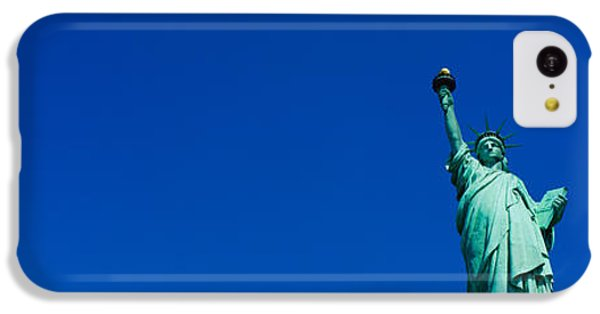 Low Angle View Of Statue Of Liberty IPhone 5c Case by Panoramic Images