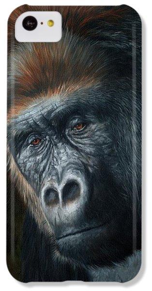 Lowland Gorilla Painting IPhone 5c Case