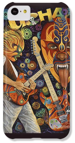 Lucha Rock IPhone 5c Case by Ricardo Chavez-Mendez