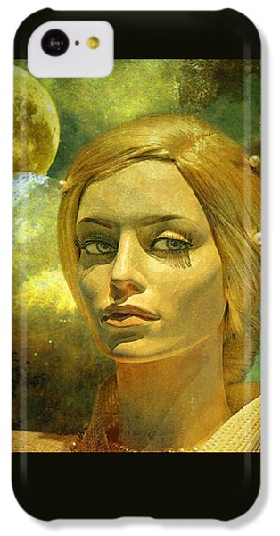 Luna In The Garden Of Evil IPhone 5c Case by Chuck Staley