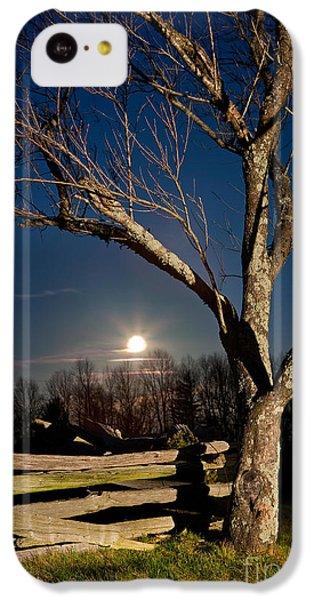 Lunar Landing - Blue Ridge Parkway IPhone 5c Case by Dan Carmichael
