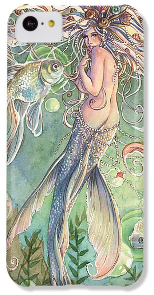 Fairy iPhone 5c Case - Lusinga by Sara Burrier