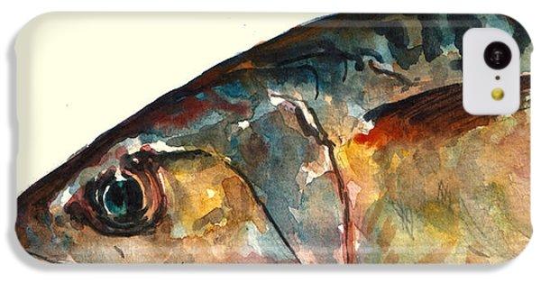 Mackerel Fish IPhone 5c Case by Juan  Bosco