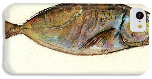 Mackerel Scad IPhone 5c Case by Juan  Bosco