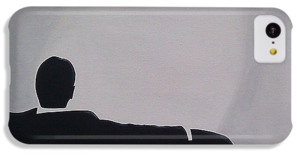 Time iPhone 5c Case - Mad Men In Silhouette by John Lyes