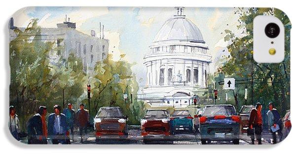 Madison - Capitol IPhone 5c Case by Ryan Radke