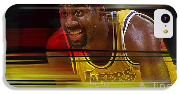 Magic Johnson IPhone 5c Case by Marvin Blaine
