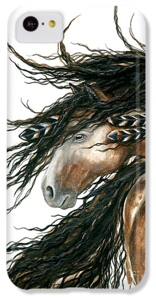 Horse iPhone 5c Case - Majestic Pinto Horse 80 by AmyLyn Bihrle