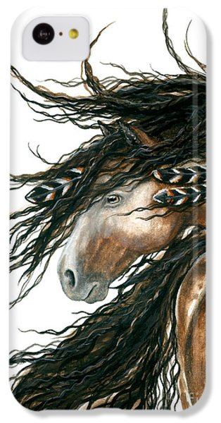 Majestic Pinto Horse 80 IPhone 5c Case by AmyLyn Bihrle