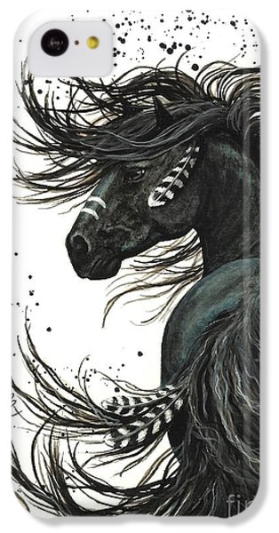 Horse iPhone 5c Case - Majestic Spirit Horse  by AmyLyn Bihrle