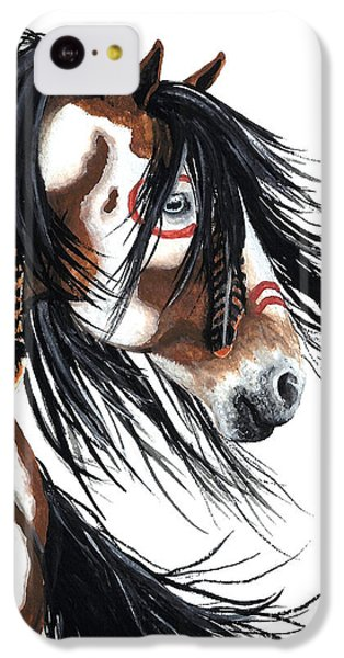 Horse iPhone 5c Case - Majestic Pinto Horse by AmyLyn Bihrle