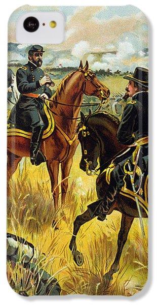 Major General George Meade At The Battle Of Gettysburg IPhone 5c Case by Henry Alexander Ogden
