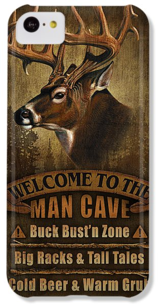Pheasant iPhone 5c Case - Man Cave Deer by JQ Licensing