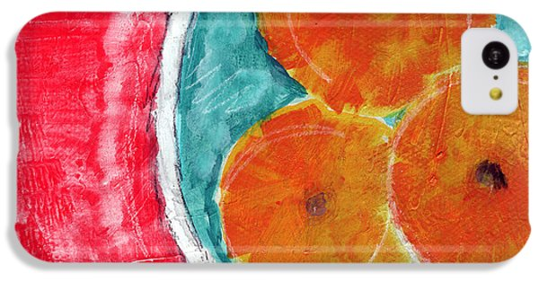 Fruit Bowl iPhone 5c Case - Mandarins by Linda Woods