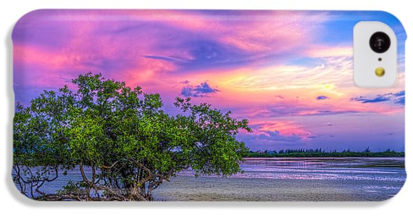 Beach Sunset iPhone 5c Case - Mangrove By The Bay by Marvin Spates