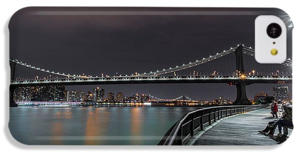 Manhattan Bridge - New York - Usa 2 IPhone 5c Case by Larry Marshall