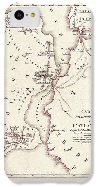 Map Of Atlantis IPhone 5c Case