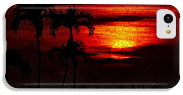 IPhone 5c Case featuring the photograph Marco Island Sunset 59 by Mark Myhaver