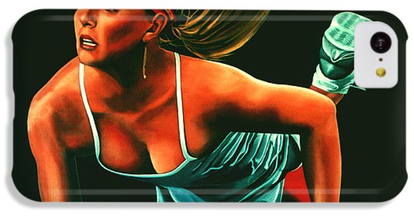 Maria Sharapova  IPhone 5c Case by Paul Meijering
