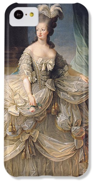 Marie Antoinette Queen Of France IPhone 5c Case by Elisabeth Louise Vigee-Lebrun