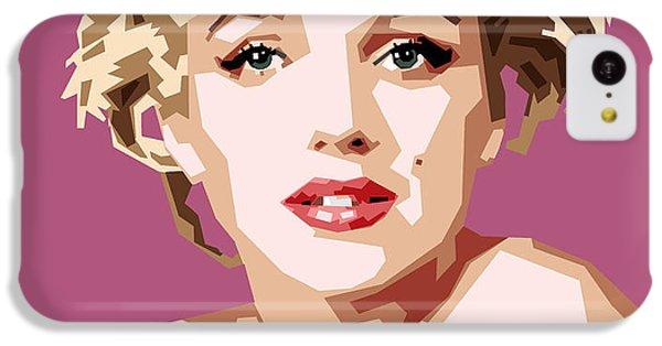 Marilyn IPhone 5c Case by Douglas Simonson