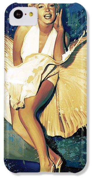 Marilyn Monroe Artwork 4 IPhone 5c Case by Sheraz A